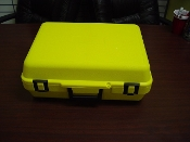 Yellow Molded Carry Case with Foam