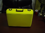 Yellow Molded Carry Case with Foam - Master Carton of 4